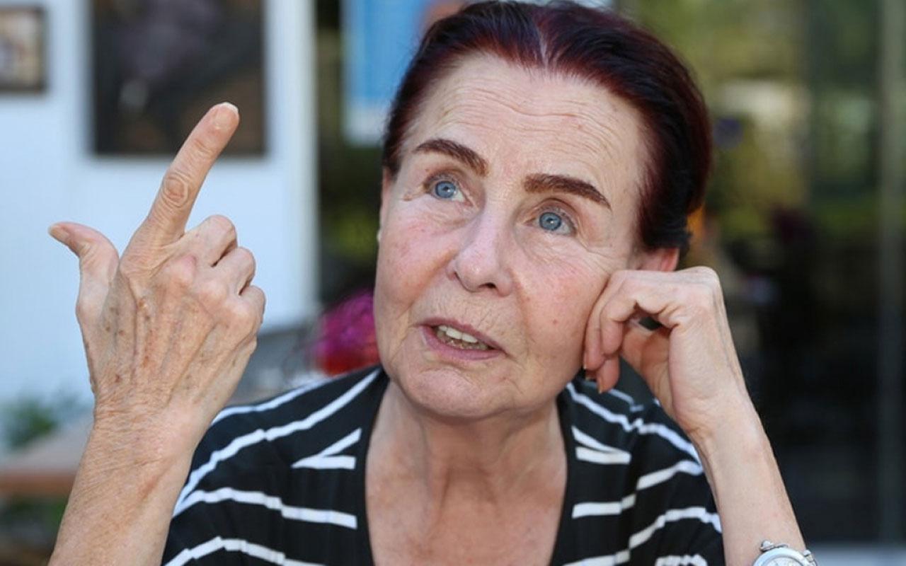 Ünlü oyuncu Fatma Girik dişini yutunca hastanelik oldu