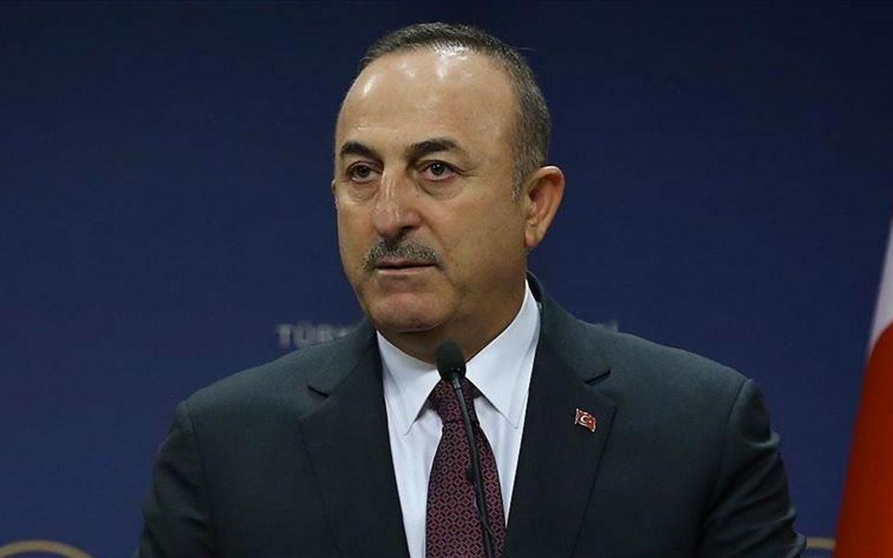 Dışişleri Bakanı Mevlüt Çavuşoğlu sert çıktı yok hükmündedir