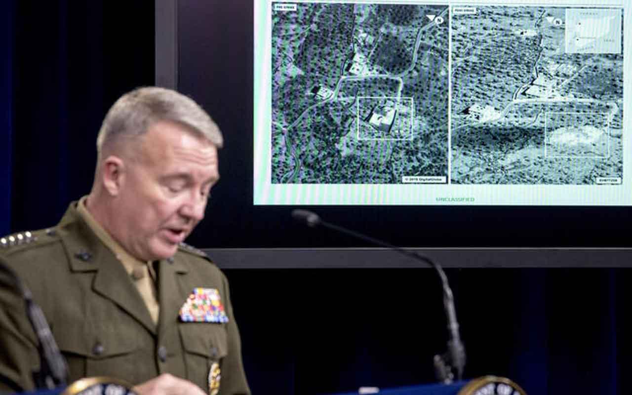 ABD Bağdadi operasyonunun görüntülerini paylaştı