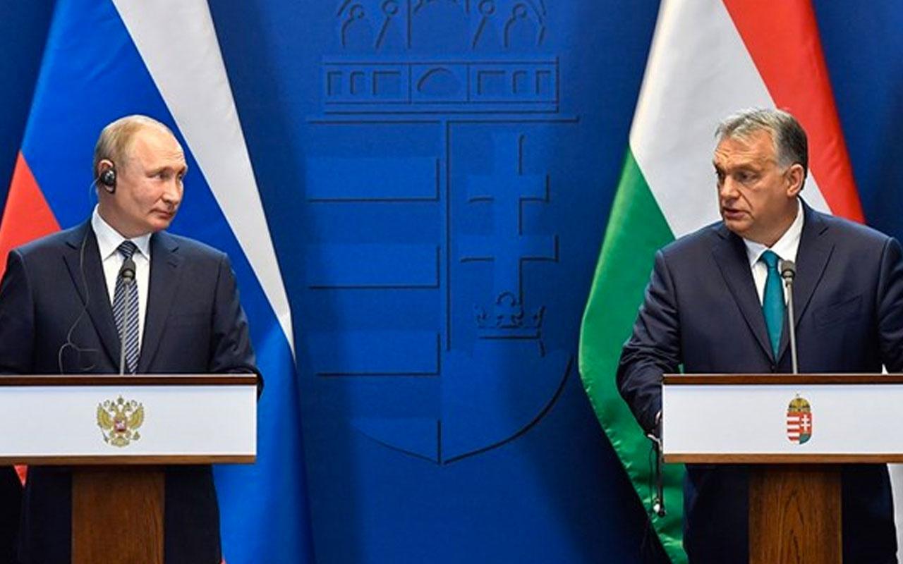 Putin ile Orban'dan 'Türk Akımı' açıklaması