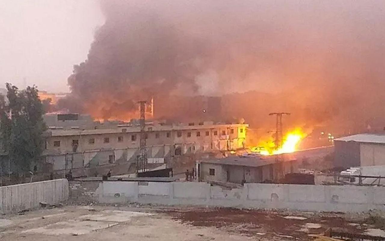 Afrin'de intihar saldırısı! Ölü ve yaralılar var