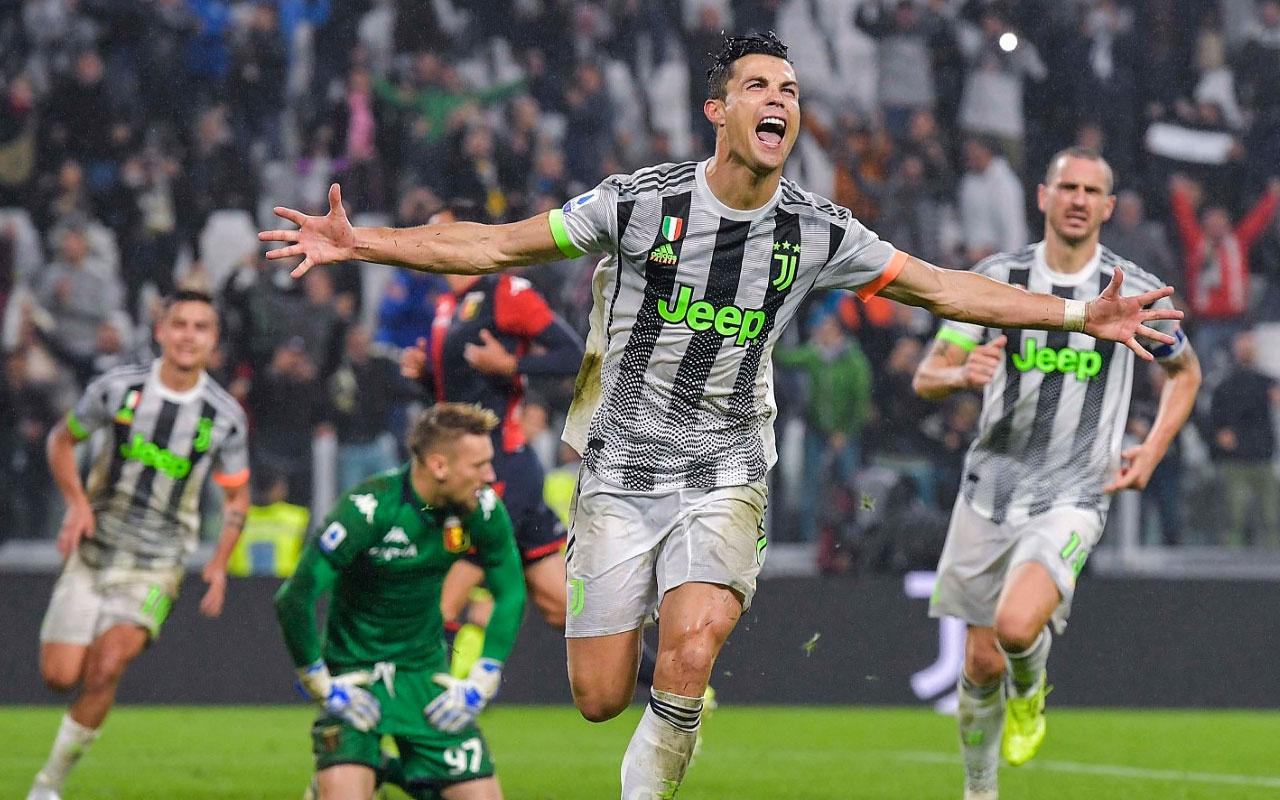 Juventus son dakikada Ronaldo'yla güldü