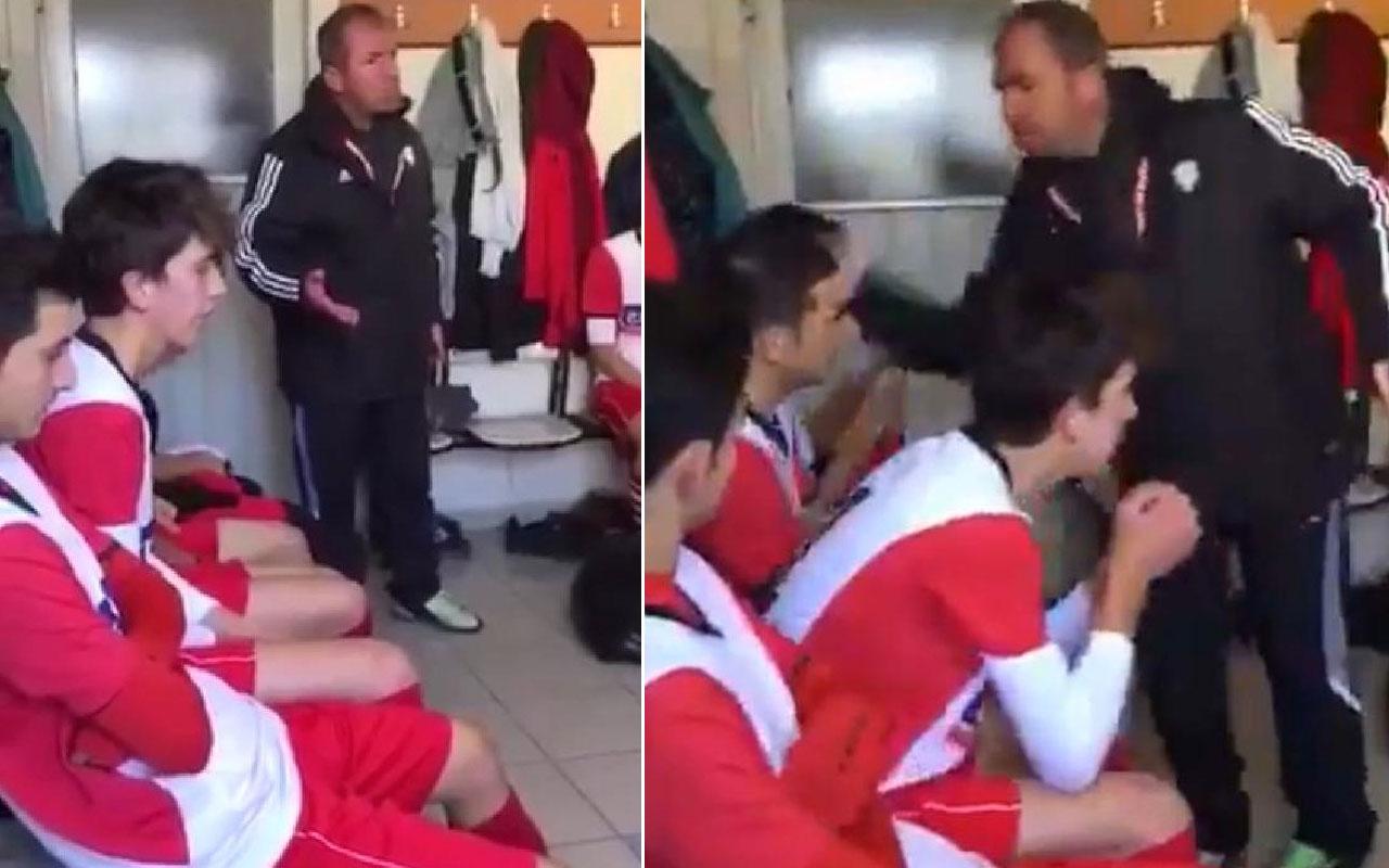 Tokat atan teknik direktöre futbolcularından destek