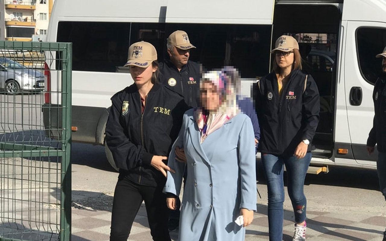 Tokat'ta FETÖ şüphelisi kadın gizli bölmede yakalandı