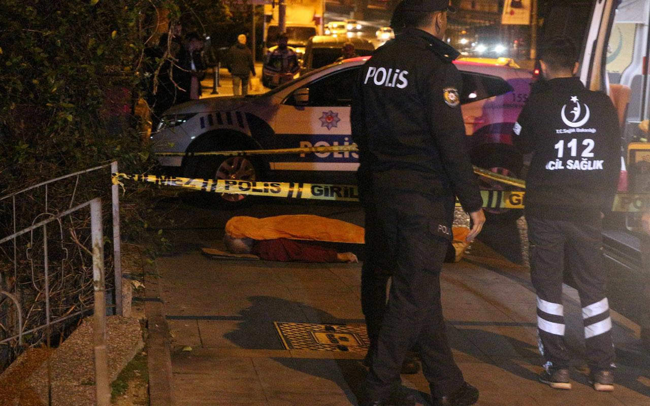 Beşiktaş'ta kaldırımda yürürken hayatını kaybetti