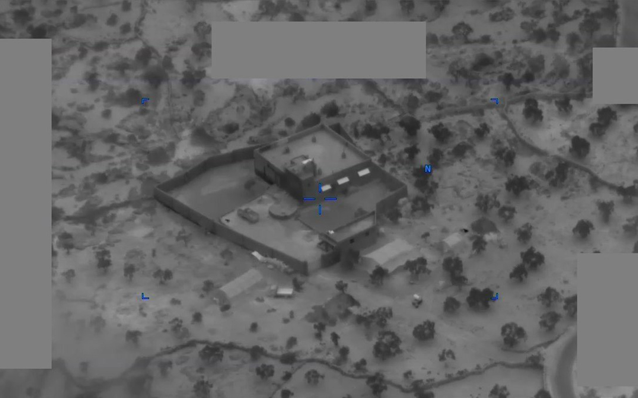 Bağdadi'nin öldürüldüğü operasyonun görüntülerini yayınlandı