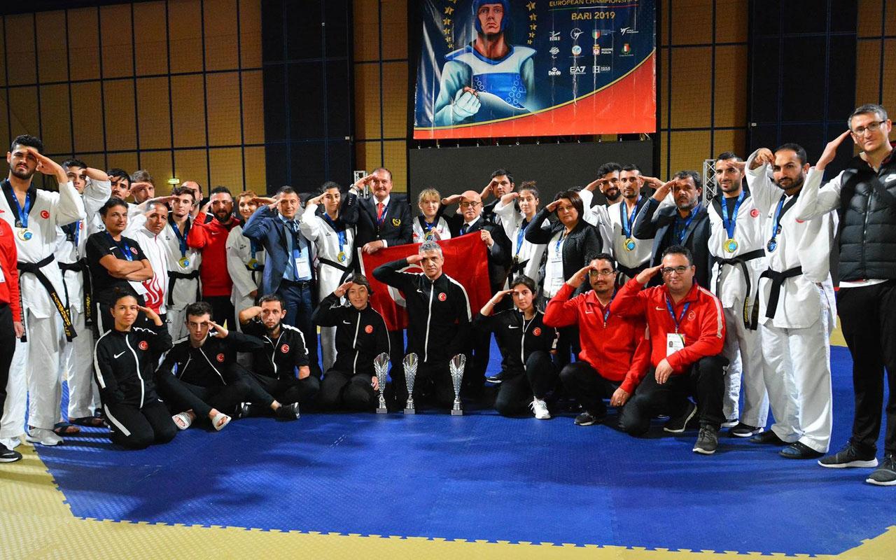 Avrupa Para Tekvando Şampiyonası'nda tarihi başarı