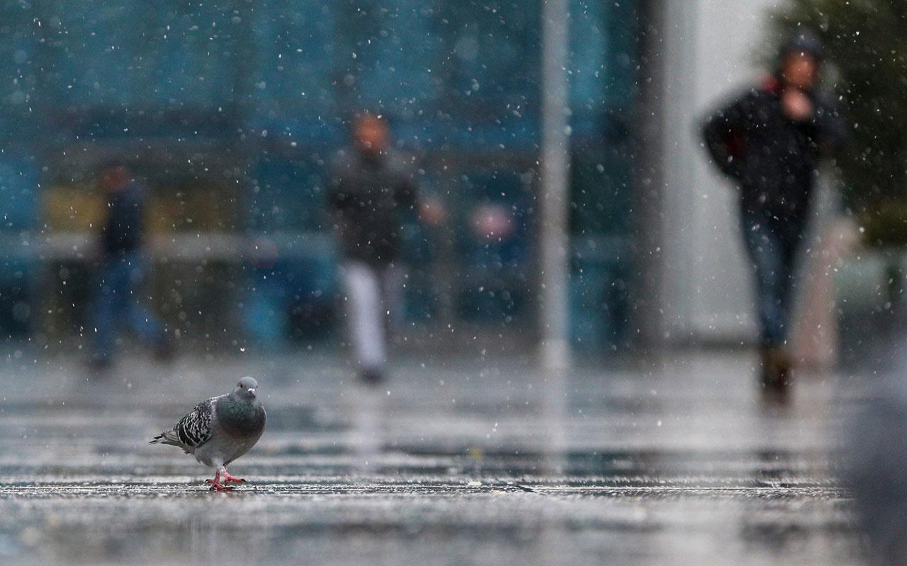 Hava durumu haftasonu kötü! Meteoroloji kar ve yağmur alarmı verdi