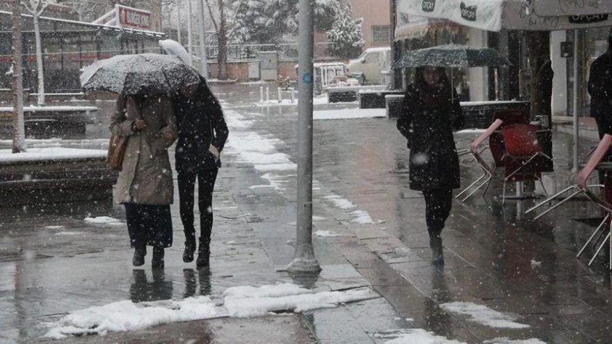 Meteoroloji'den kar uyarısı! Marmara ve Karadeniz için turuncu alarm