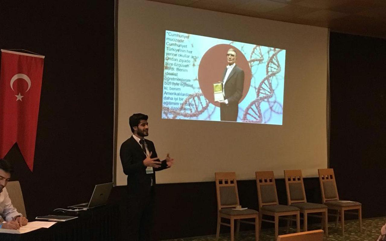ITTES2019'a damga vuran proje! Uzm. Biyolog Mete Arslan Konak'tan çarpıcı açıklamalar