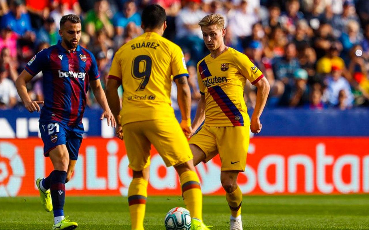 Barcelona'ya Levante'ye şoku!