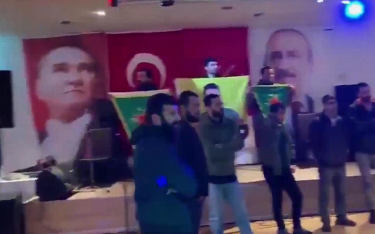 İsviçre'deki CHP etkinliğine PKK baskını