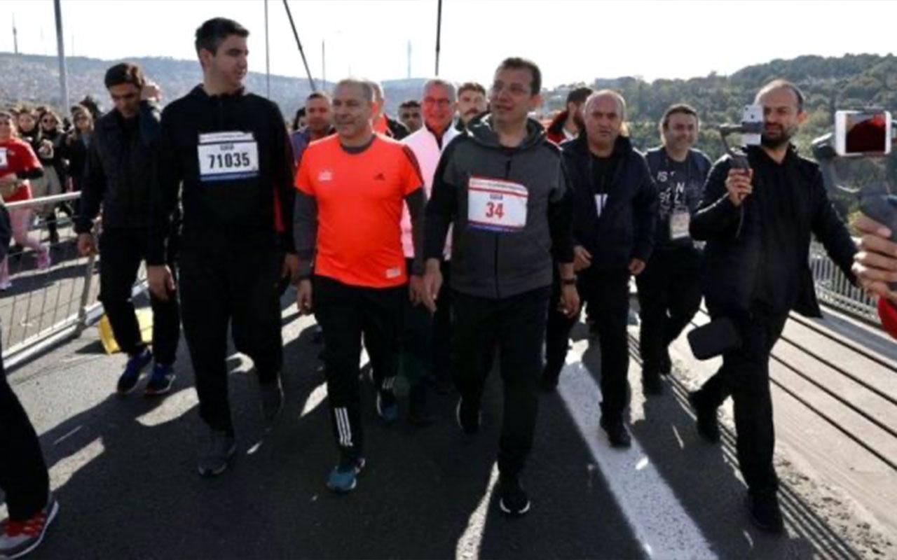 vodafone istanbul maratonu ekrem imamoğlu ile ilgili görsel sonucu