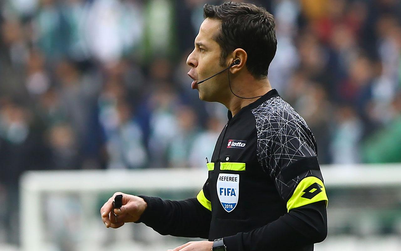 Rumlar Türk hakem Halis Özkahya'yı istemedi UEFA anında değiştirdi