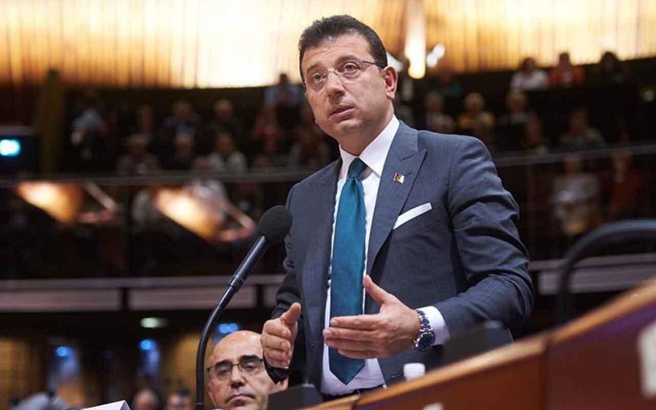 Ekrem İmamoğlu Fransa'da Türkiyeyi şikayet edip,HDP'yi savundu