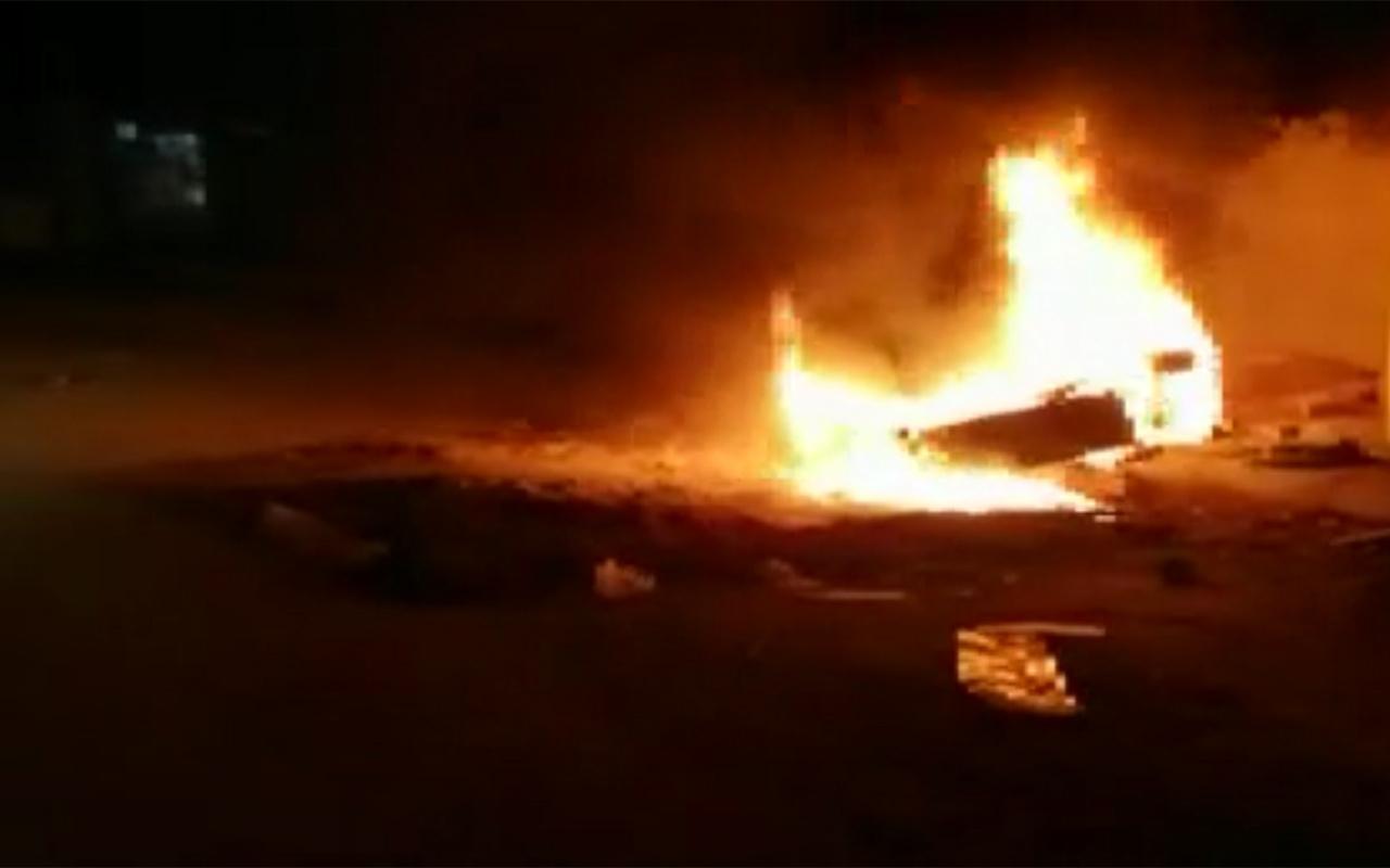 Mardin'de kaçak elektrik tüketimini önleyen panolara saldırı