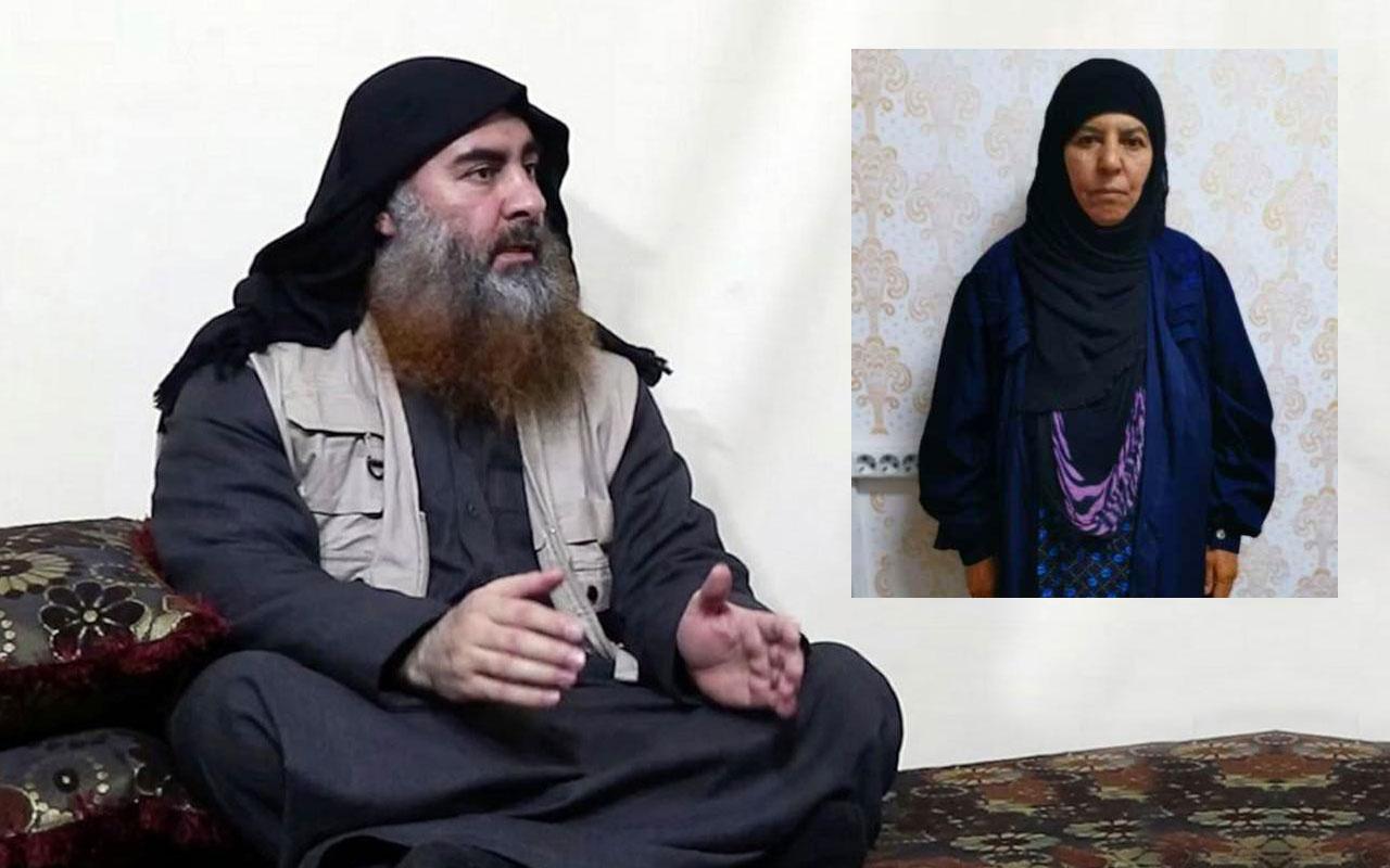 Türkiye'nin yaptığı operasyonda Bağdadi'nin ablası yakalandı