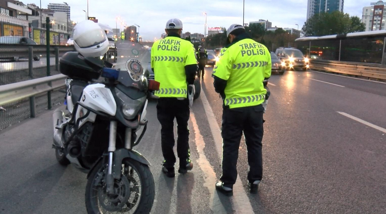 trafik polisi ceza