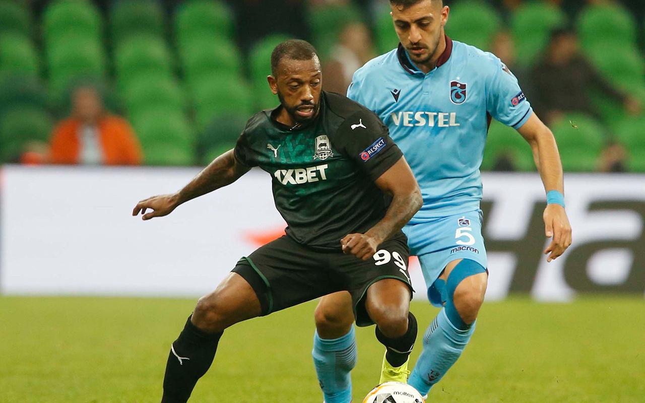 Krasnodar Trabzonspor UEFA Avrupa Ligi maçı golleri ve geniş özeti