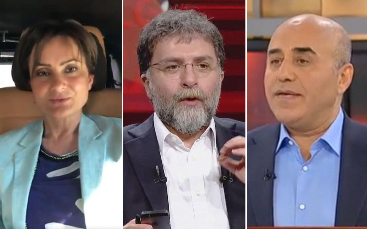 Ahmet Hakan tarafını seçti Canan Kaftancıoğlu Necati Özkan kavgası