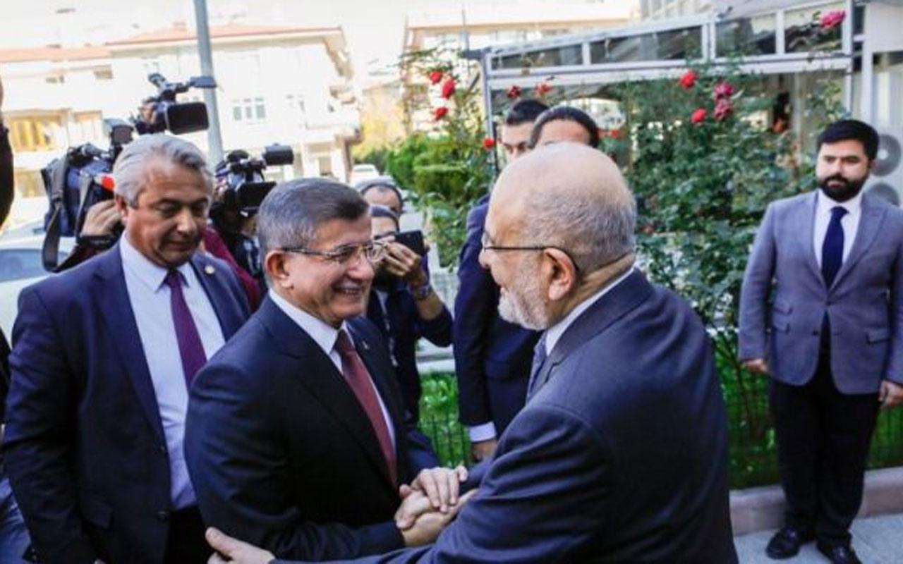 Karamollaoğlu görüşmesi sonrası Ahmet Davutoğlu'ndan çarpıcı açıklamalar
