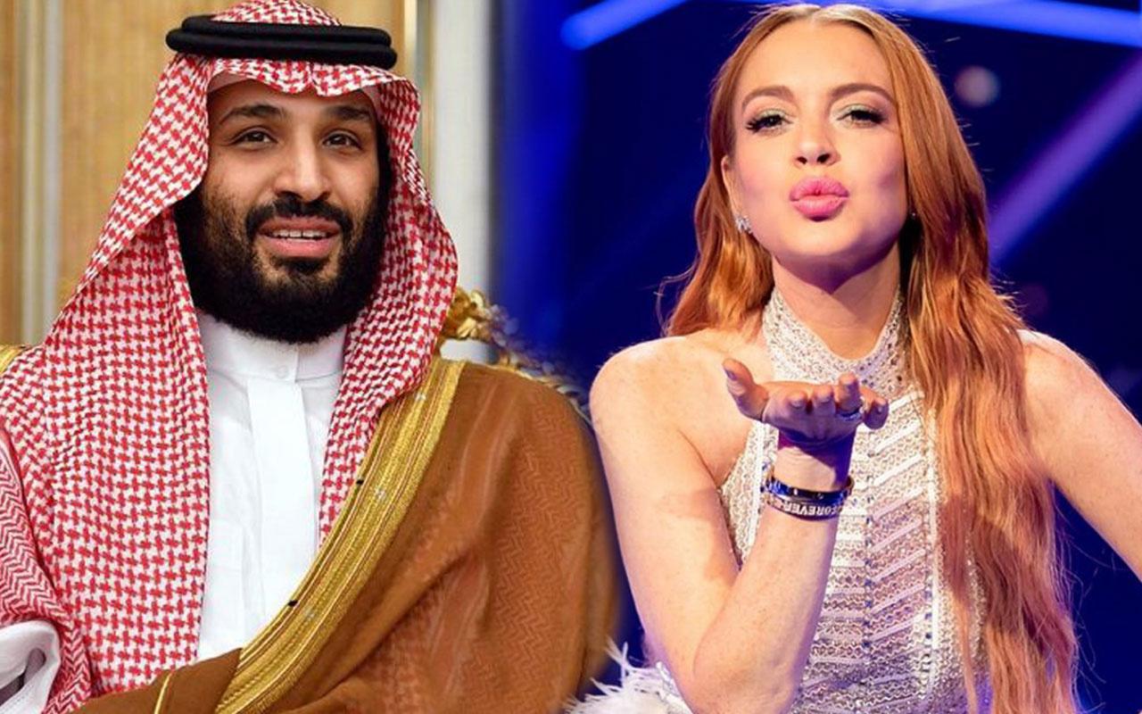 Lindsay Lohan'ın babası itiraf etti Suudi Arabistan Veliahtı Selman'la aşk yaşıyor