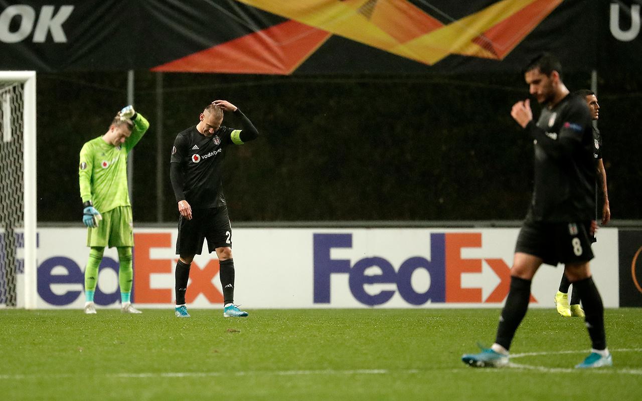 Braga Beşiktaş UEFA Avrupa Ligi maçı golleri ve geniş özeti