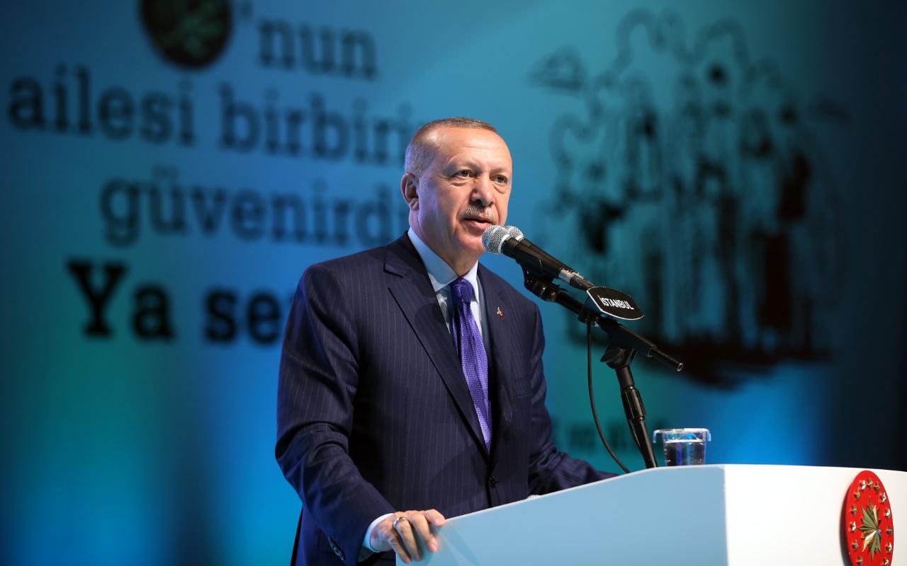 Cumhurbaşkanı Erdoğan: Dünyanın başka bir yerinde örneği yok