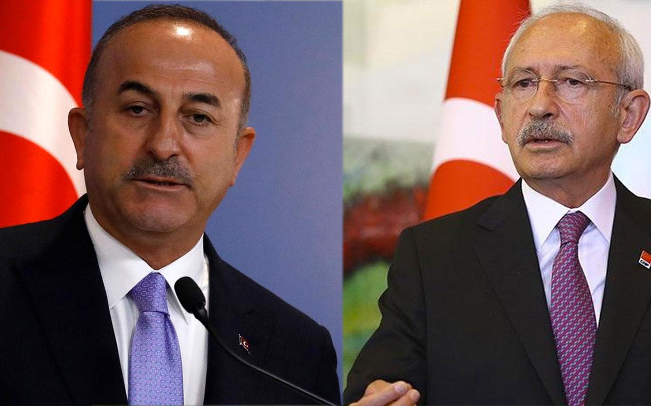 """Mevlüt Çavuşoğlu'ndan Kılıçdaroğlu'nun ortaya attığı """"lobi"""" iddialarına yanıt"""