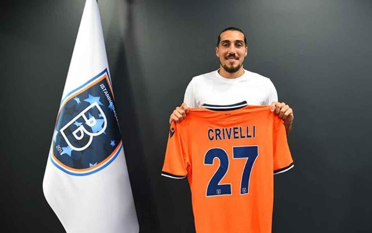 UEFA, Başakşehirli Crivelli'yi haftanın futbolcusuna aday gösterdi