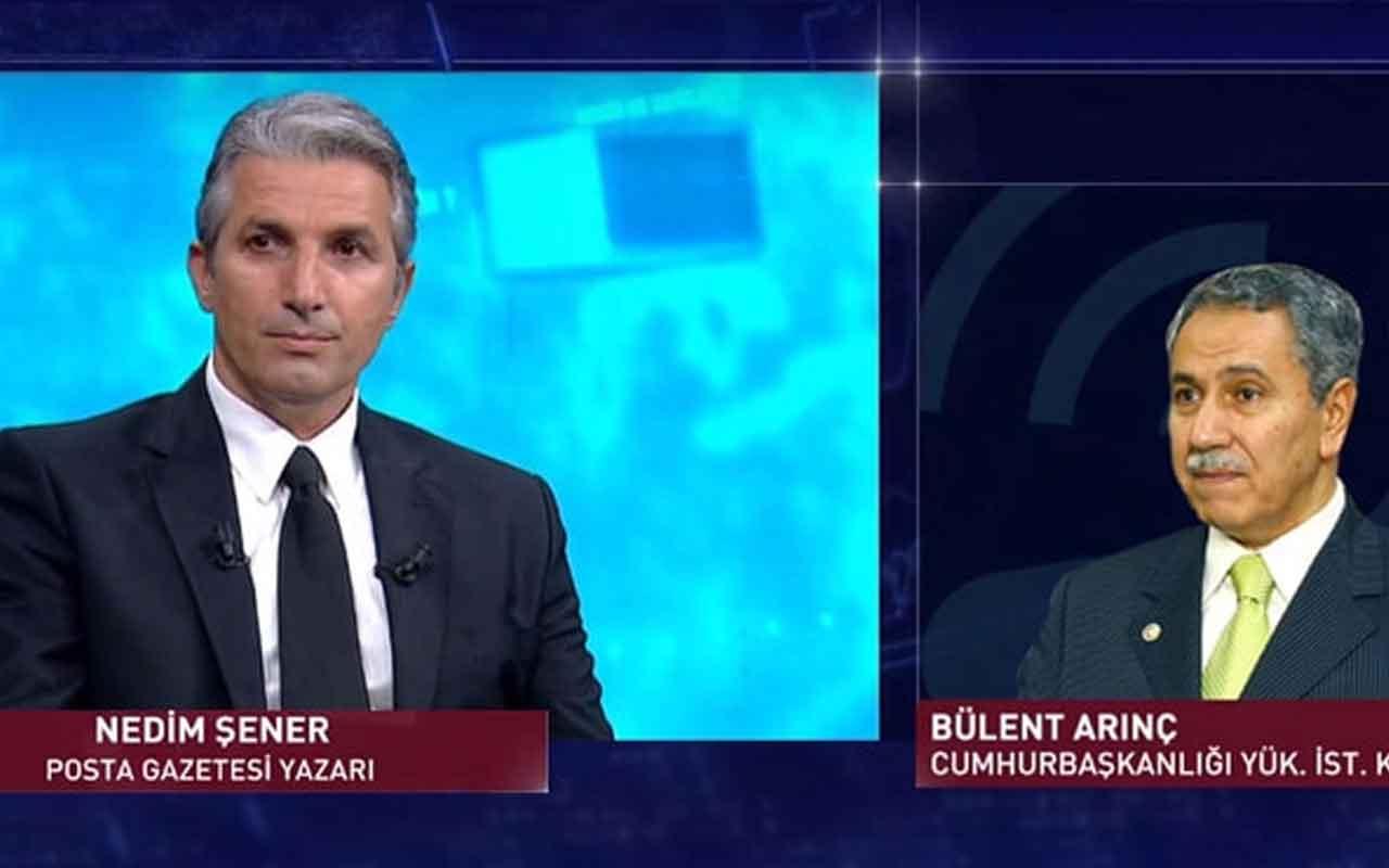 Nedim Şener'den Bülent Arınç'la ilgili bomba iddia!
