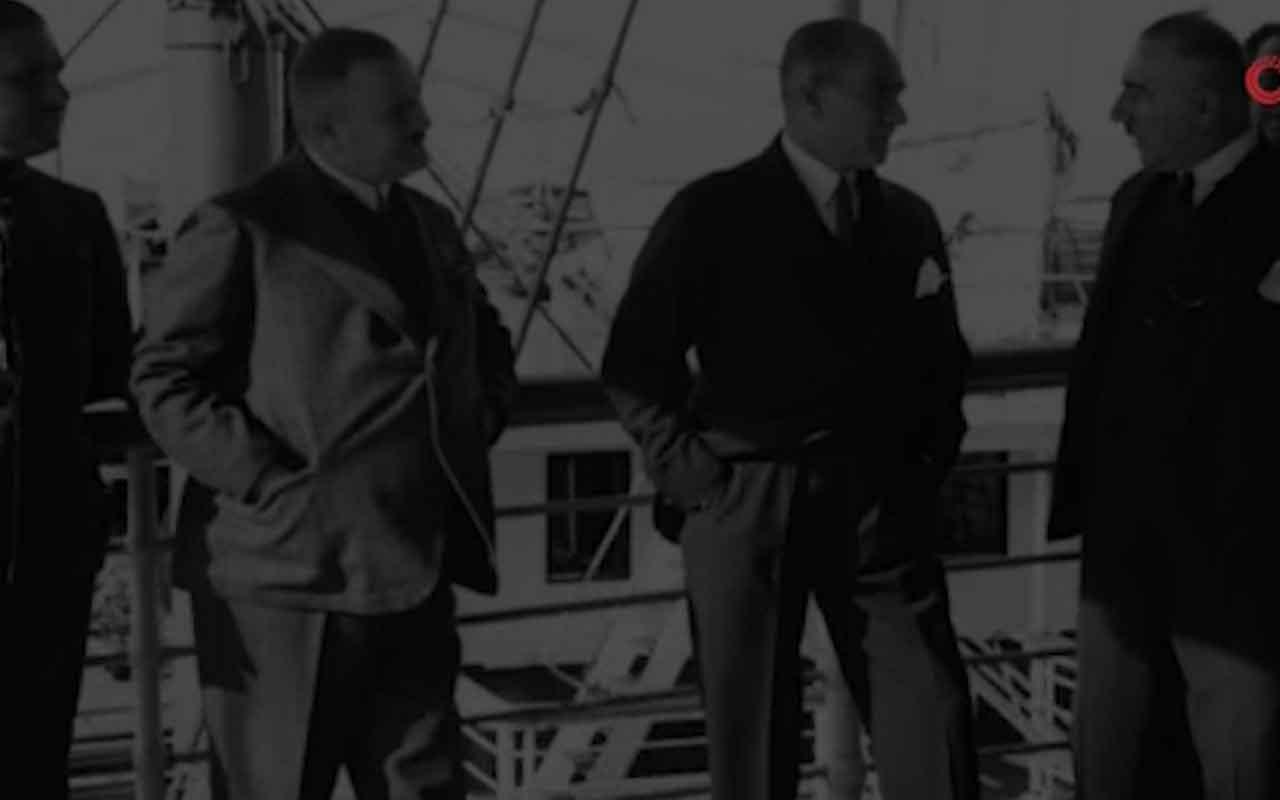 Bakan Ersoy, Atatürk'ün şimdiye kadar yayımlanmamış yeni görüntülerini paylaştı