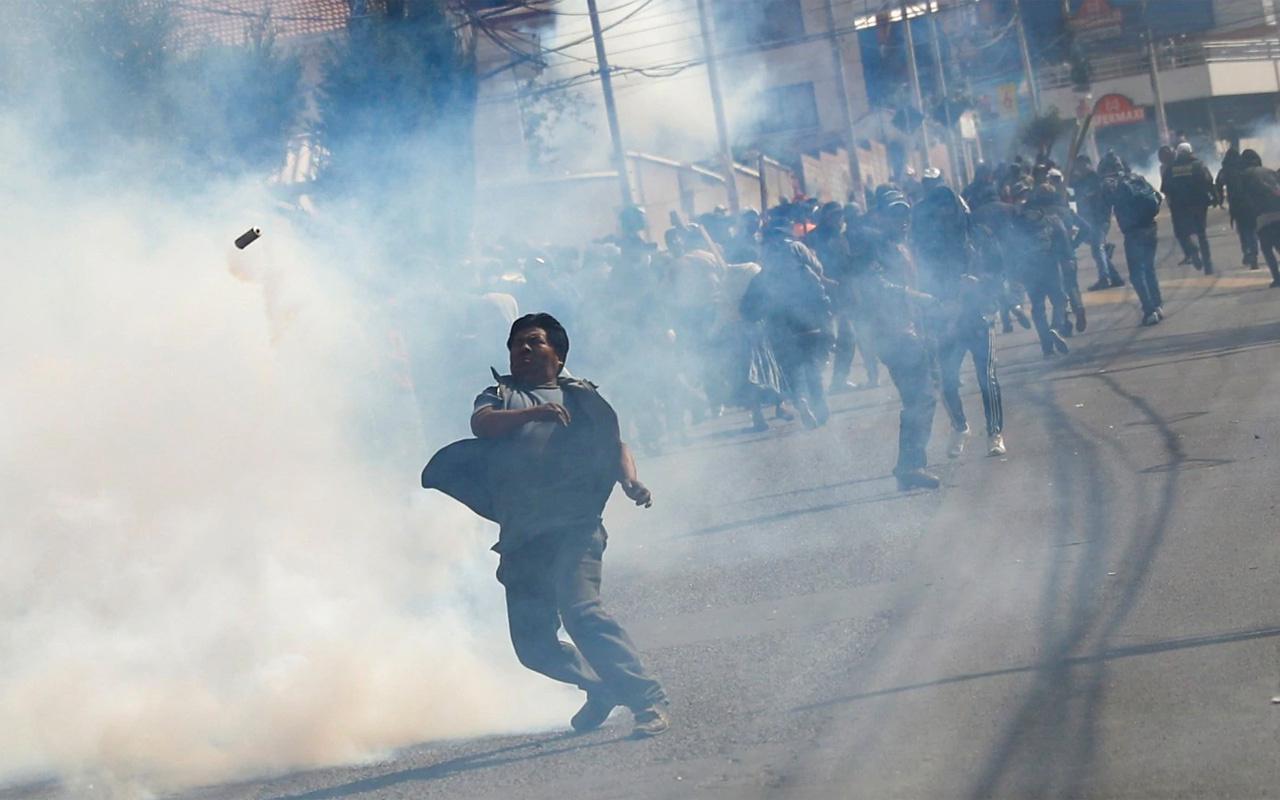 Bazı polisler isyana katıldı Morales'ten halka çağrı