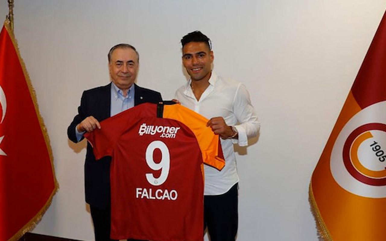 Galatasaray Başkanı Mustafa Cengiz'den çok konuşulacak Falcao açıklaması
