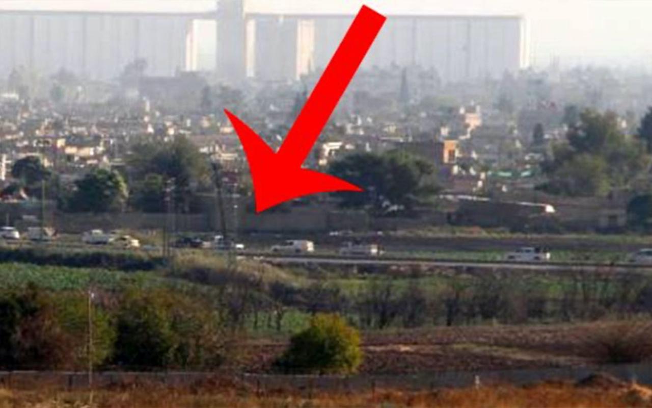 YPG mensuplarına ait konvoy Güvenli Bölge'den geçti