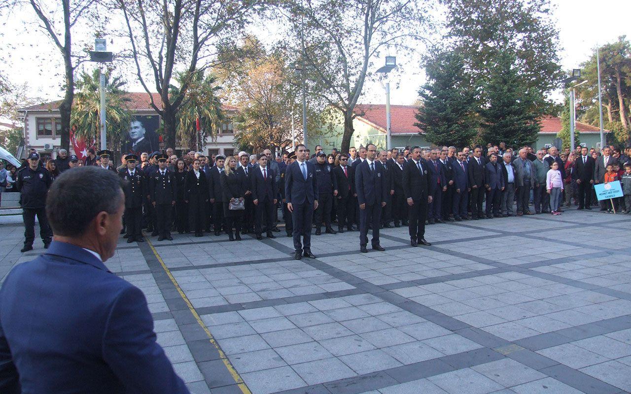 Çanakkale Bayramiç'te 10 Kasım soruşturması