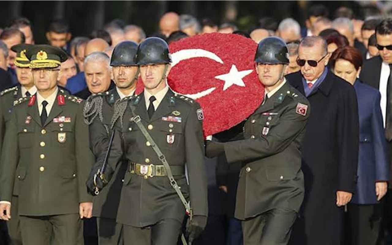 Devlet Erkanları Anıtkabir'de Büyük Önder Atatürk'ü andı