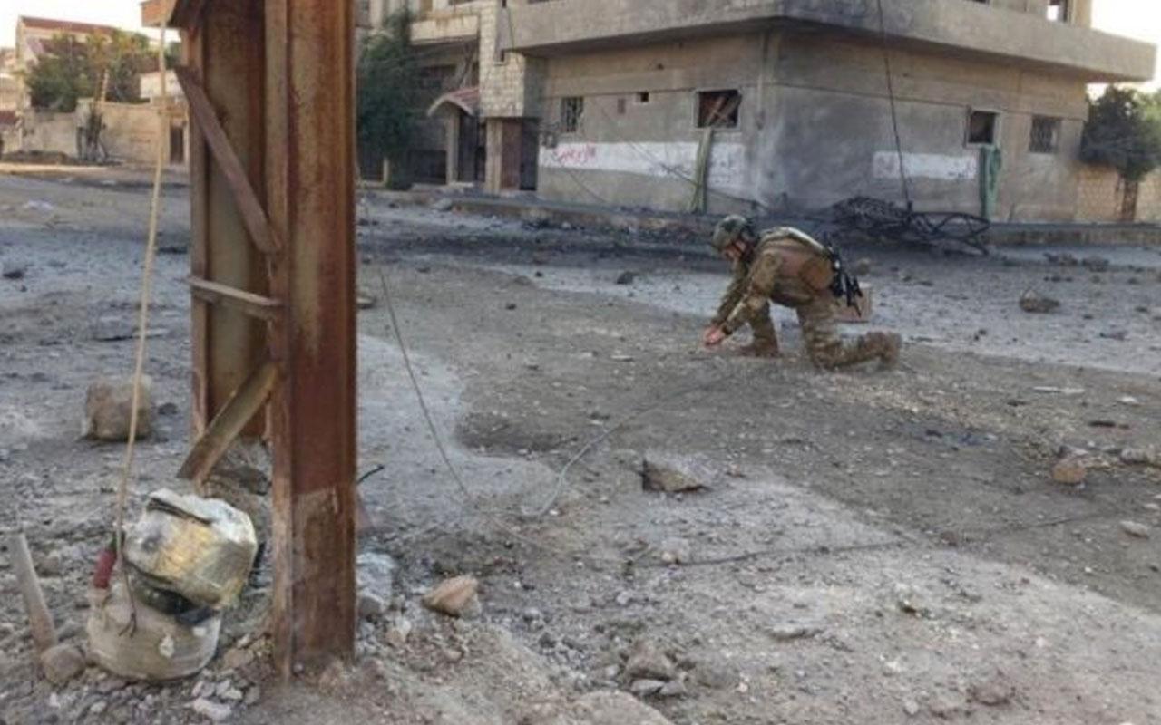 Suriye'de 331 mayın ve 891 EYP etkisiz hale getirildi