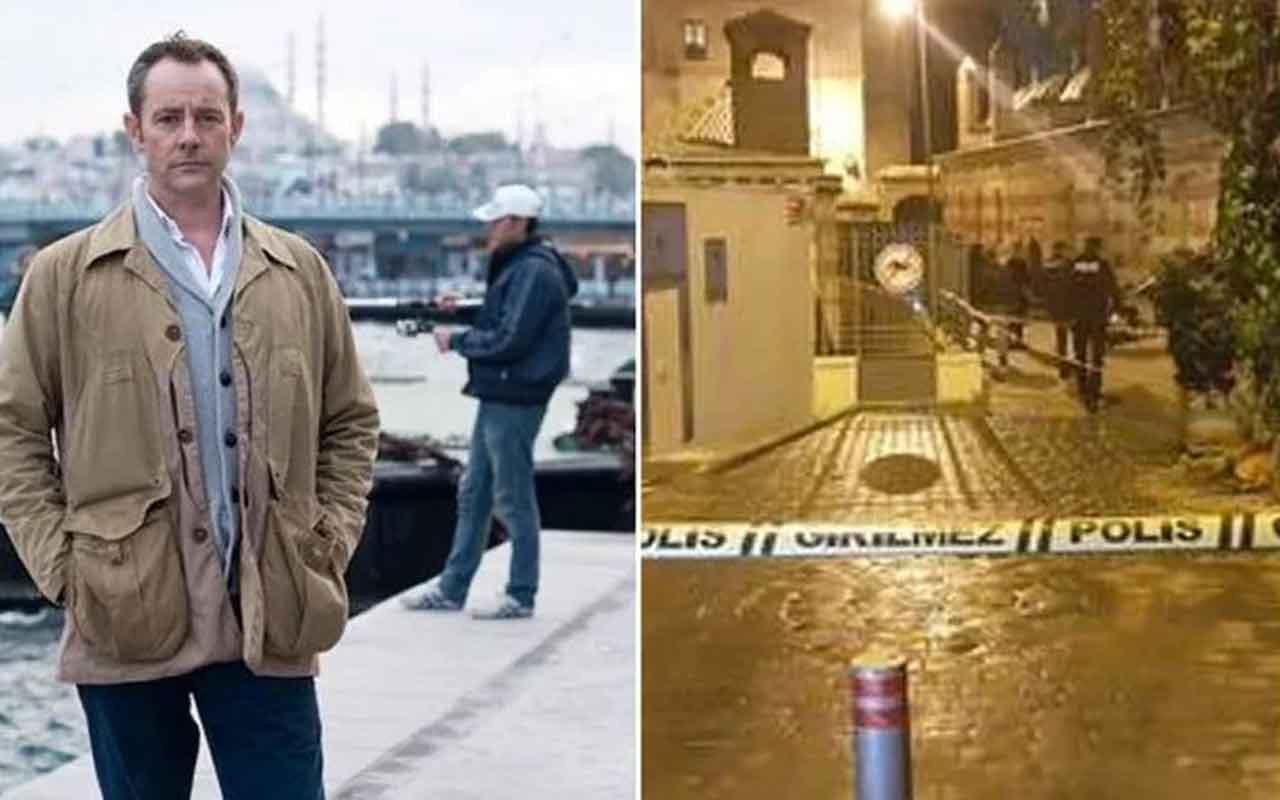 Beyoğlu'nda ölü bulunan kişi eski ingiliz istihbarat subayı çıktı