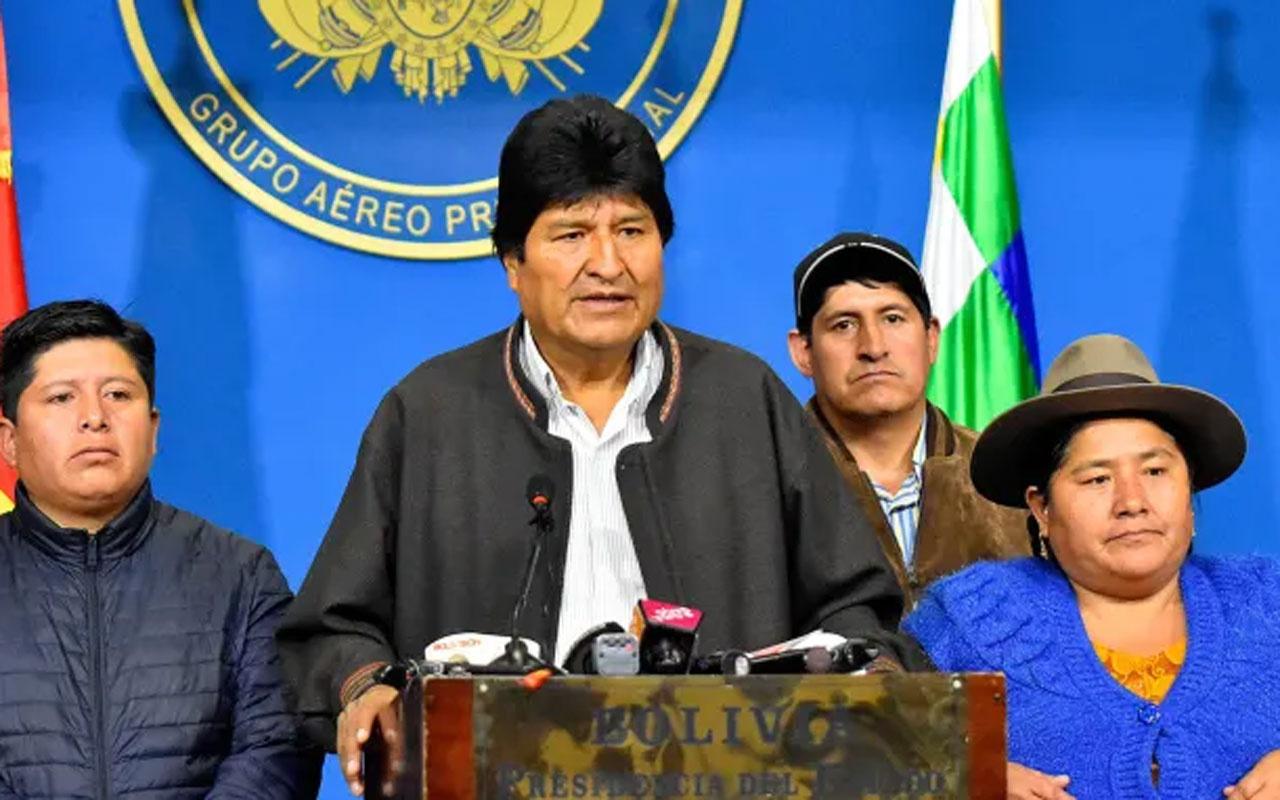 Bolivya fena karıştı! Başkan görevini bıraktı