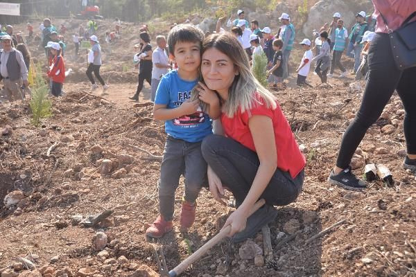 Geleceğe Nefes fidan dikiminde rekor! Türkiye'ye 11 milyon fidan dikildi