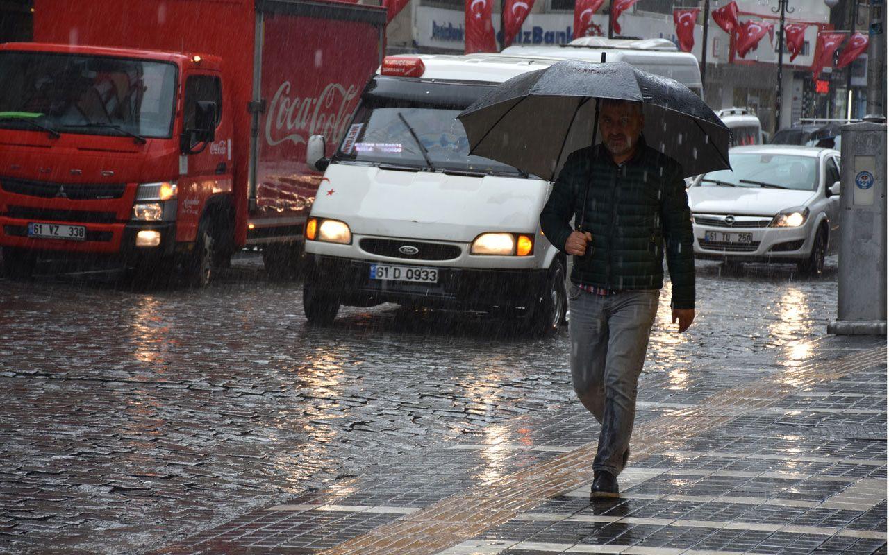 Meteoroloji'den son dakika haberi! 6 ile birden sağanak yağış uyarısı