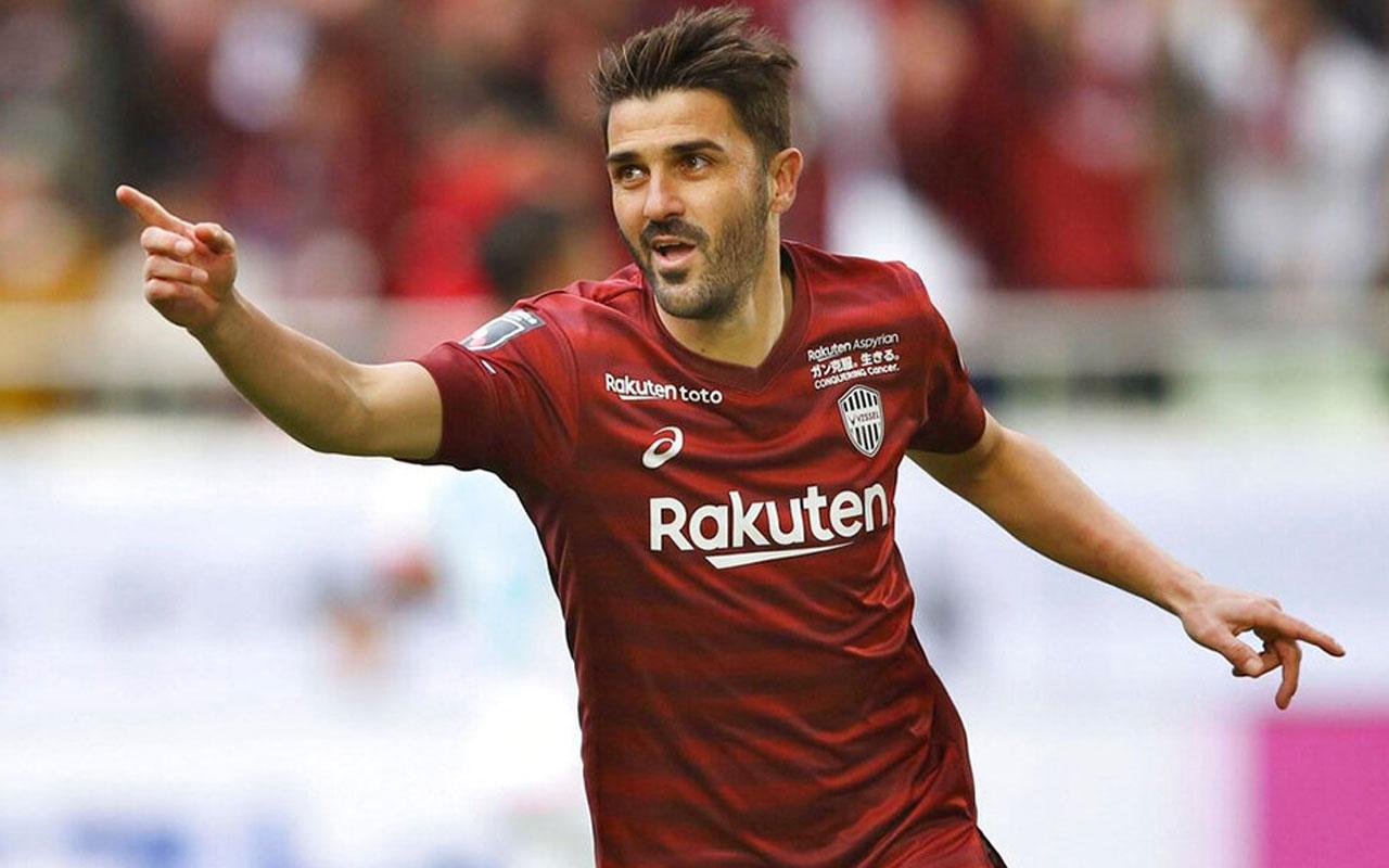 David Villa futbola veda ediyor