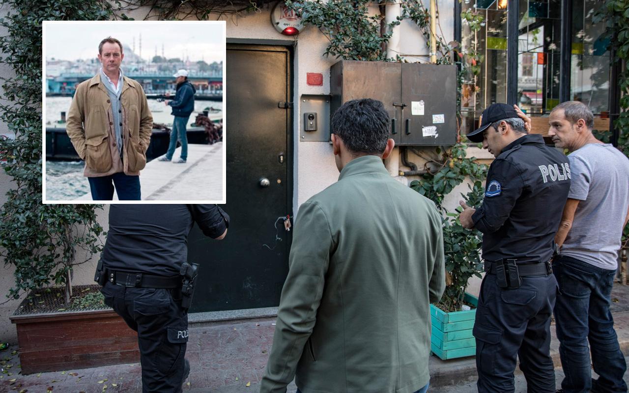 İstanbul'da ölü bulunan eski İngiliz ajan Le Mesurier'in evinden harita ve kroki çıktı