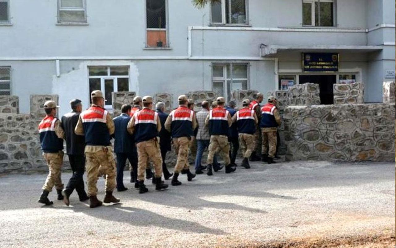 Muş'ta muhtar operasyonu! 6 muhtar gözaltına alındı