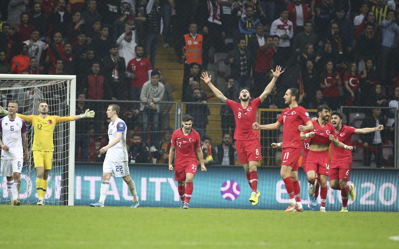 Türkiye İzlanda maçı golleri ve geniş özeti