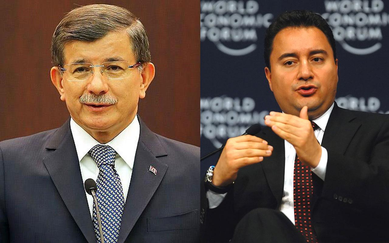 Ahmet Davutoğlu parti kurmamasını teklif eden Ali Babacan'ı reddetti