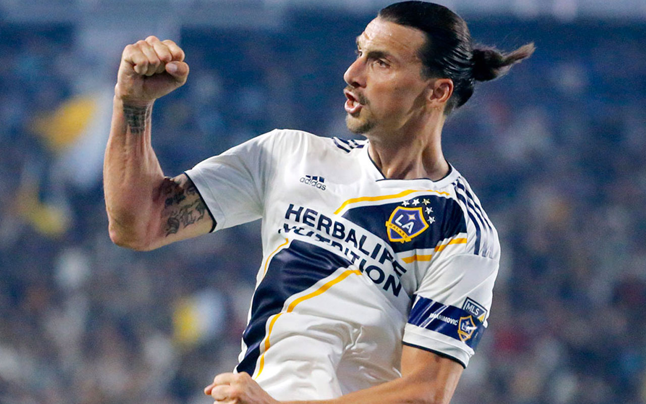 Zlatan Ibrahimovic'ten Los Angeles Galaxy'e veda
