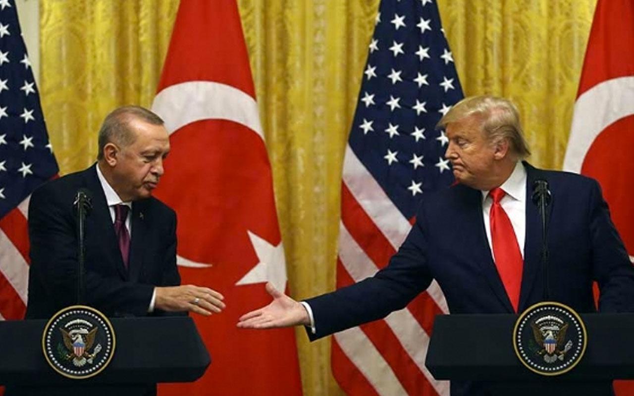 Cumhurbaşkanı Erdoğan Trump'ı böyle düzeltti o anlar kamerada