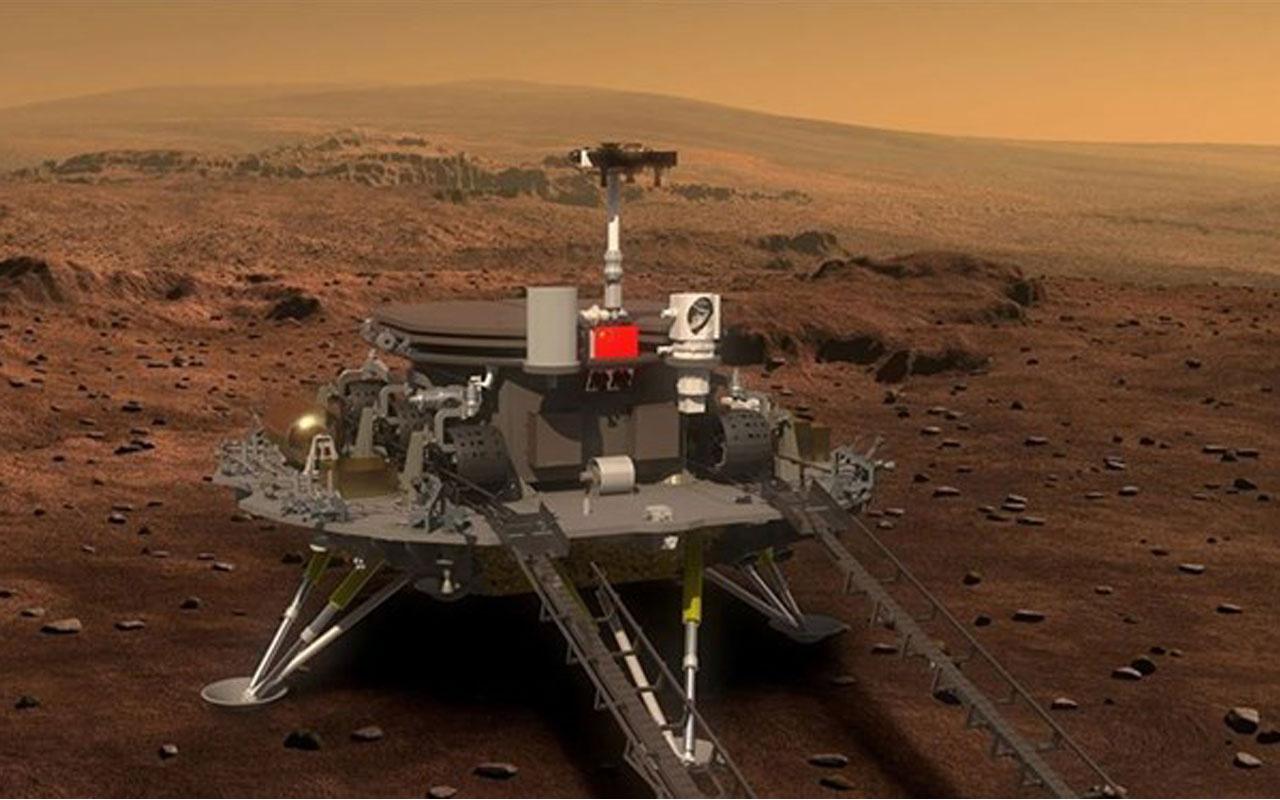 Çin keşif aracından önce Mars'a iniş testi gerçekleştirdi